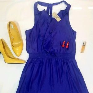 American Eagle Blue T Strap Dress NWT